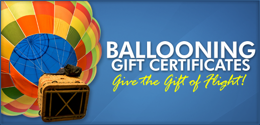 Santa Ana Balloon Ride Christmas Gift Certificates