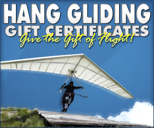 Los Angeles Hang Gliding Gift Certificates